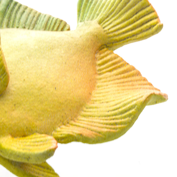 Ceramic Wall Art Yellow Tang Fish