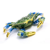 Cloisonne Box Blue Crab