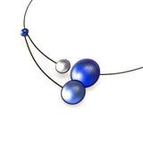 Bubble Bobbles Memory Wire Necklace