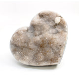 Druzy Crystal Heart