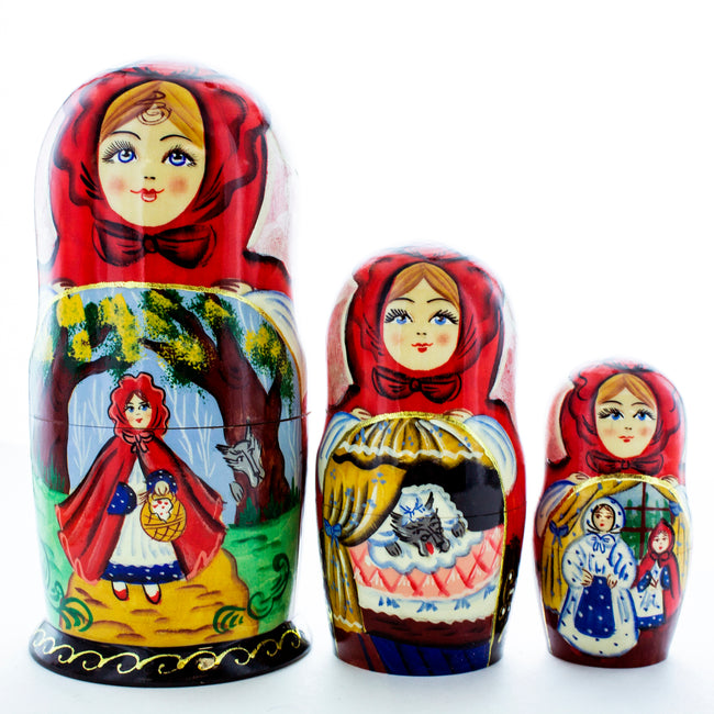 Russian Nesting Doll Little Red Riding Hood