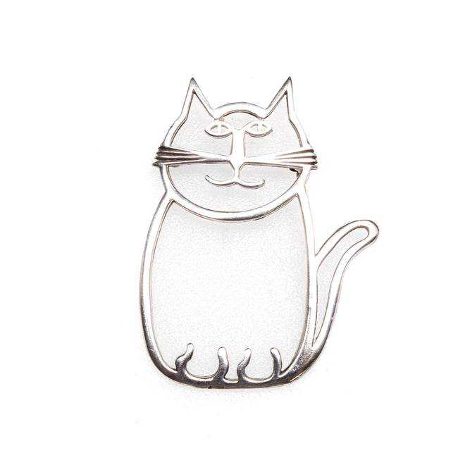 SS Fat Cat Pin