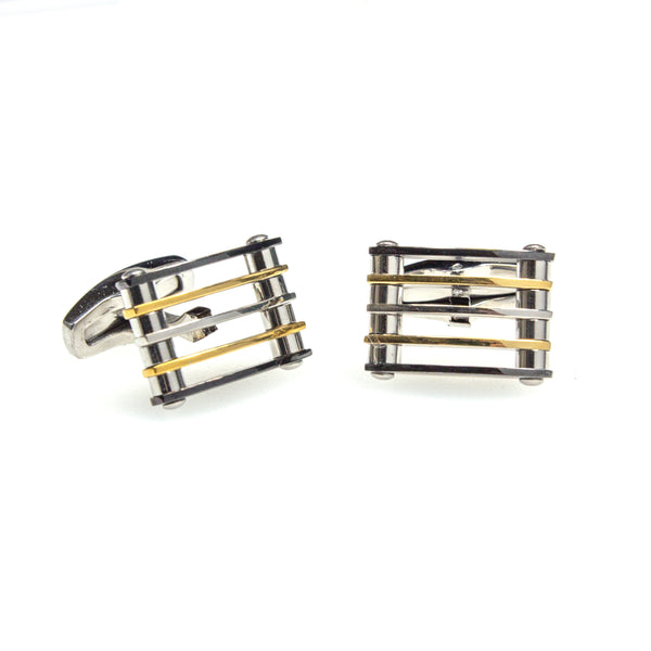 Stainless Steel Rectagular Cufflinks
