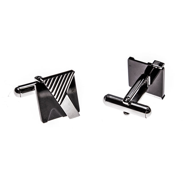 Stainless Steel Dynamic Cuff Links