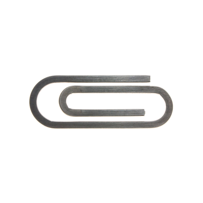 Stainless Steel Paperclip Money Clip