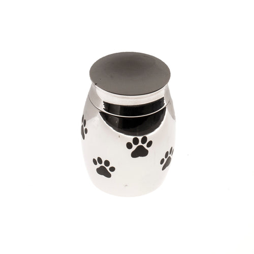 Stainless Steel Paw Ash Jar