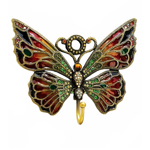 Enamel Butterfly Hook