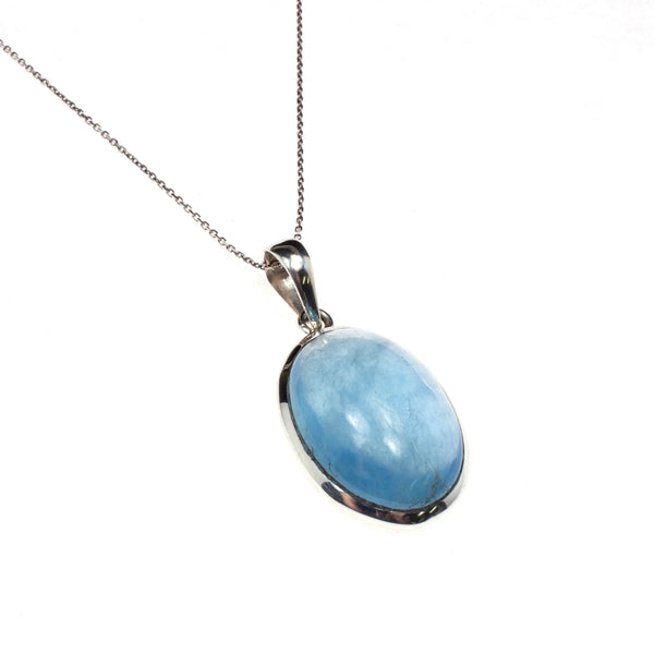 Sterling Silver Aquamarine Assorted Necklace
