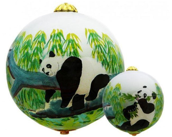 Hand-painted Panda Ornament