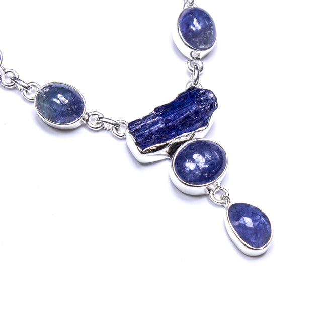 SS Tanzanite Enthusiast Necklace