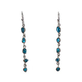 Sterling Silver Apatite Drop Dangle Earrings
