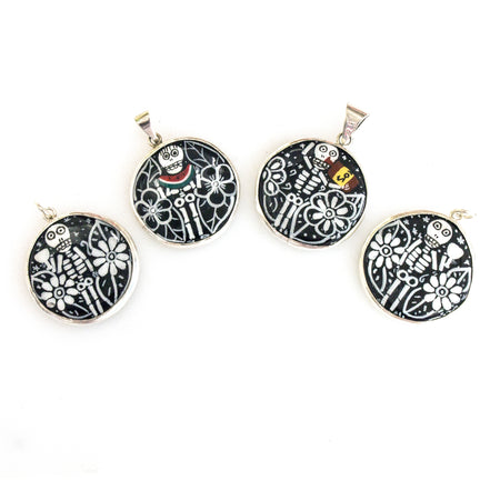 SS Large Multi-colored Amber Owl Earrings