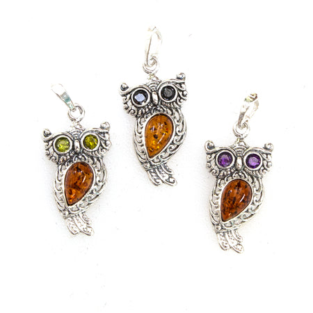 SS Amber Cat Stud Earrings