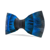 Turkey and Peacock Feather Bow Tie