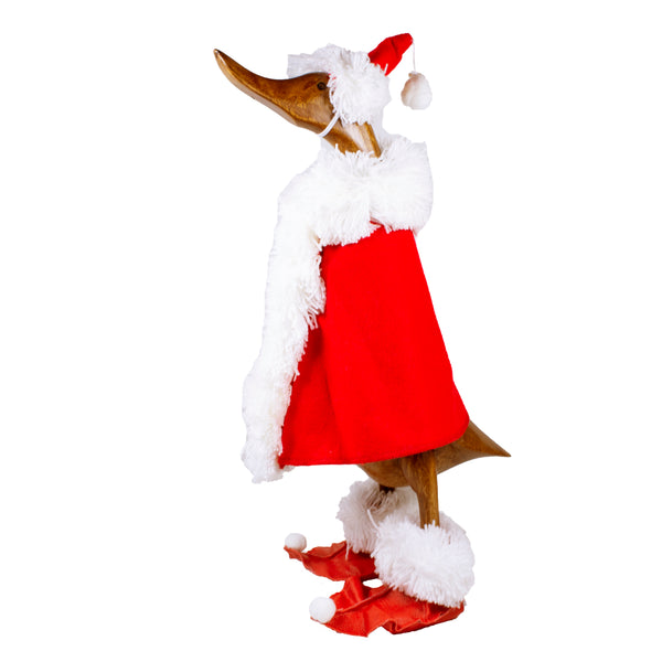 Bamboo Duck Christmas Santa Adult