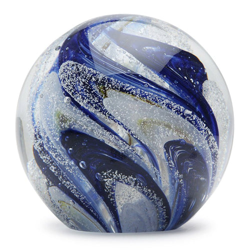 Blueberry Snow Cone Glow Paperweight