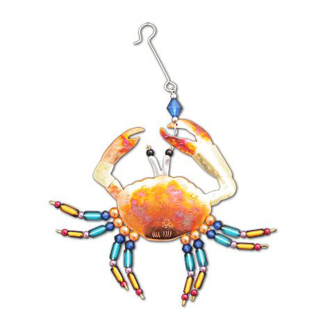Colorful Crab Ornament