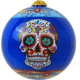 Hand-painted Sugar Skull Ornament