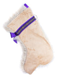 Golden Doodle Dog Christmas Stocking