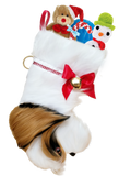 Shih Zhu Dog Christmas Stocking