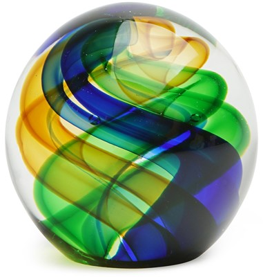 Interstellar Swirl Paperweight