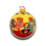 Teddy Bear Parade Hand-painted Ornament
