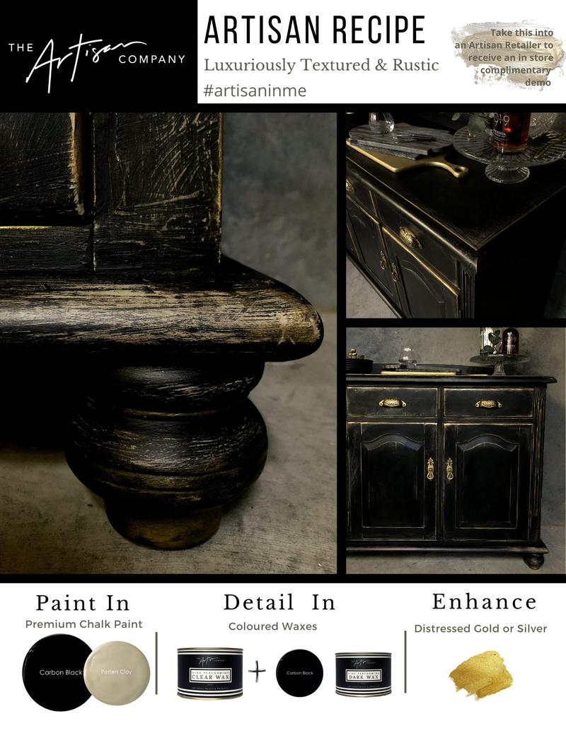 Luxuriously Textured & Rustic - Paint Recipe