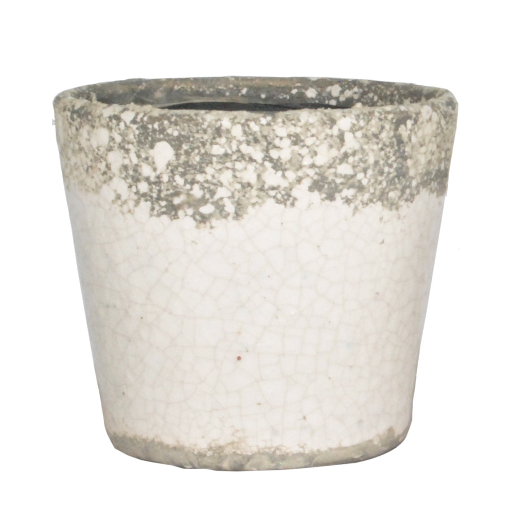 San Remo Pot - White Large