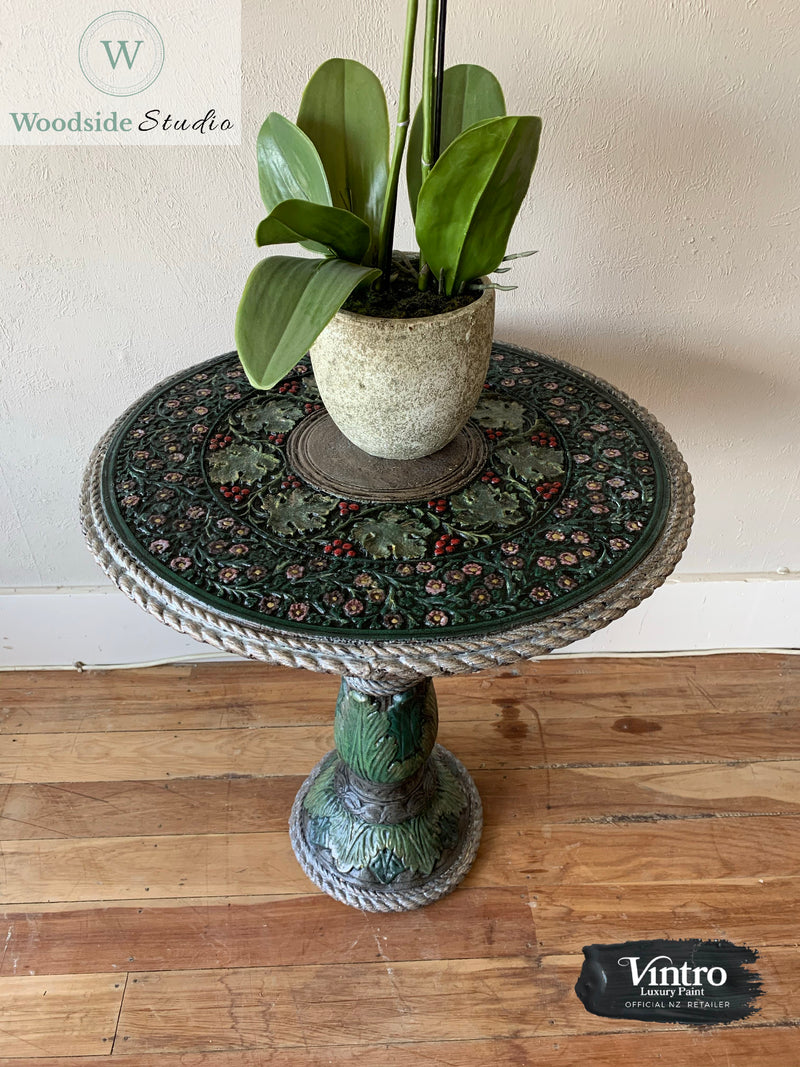 Glazed Decorative Concrete Table