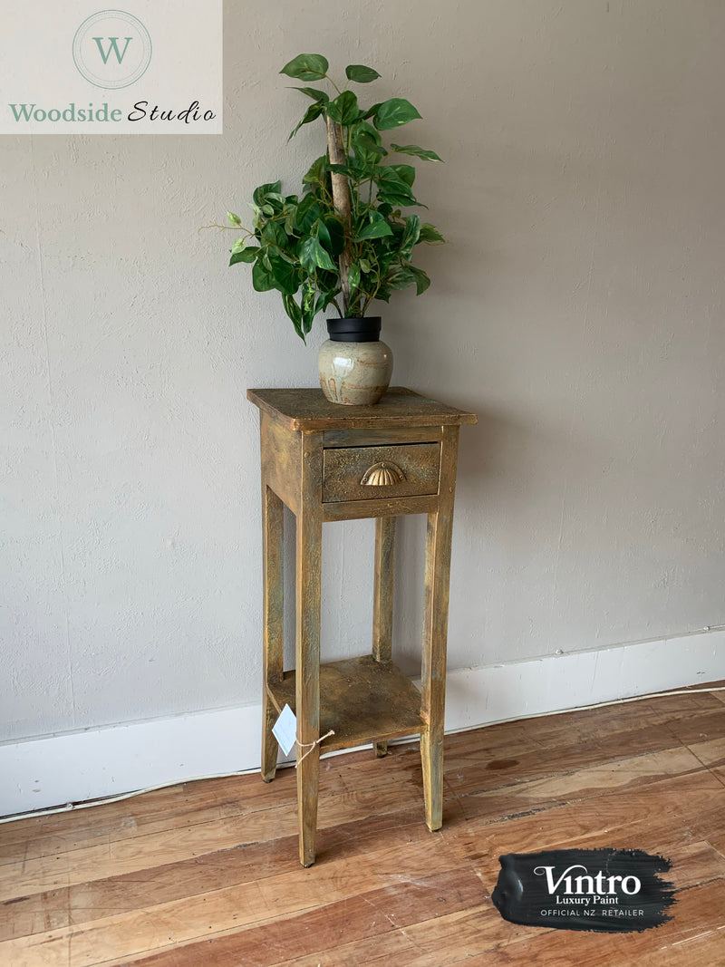 Rustic Plant Stand