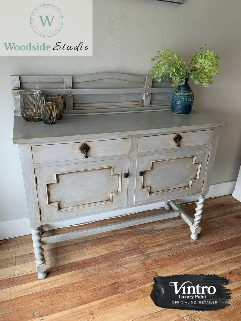 Oak Barley Twist Sideboard