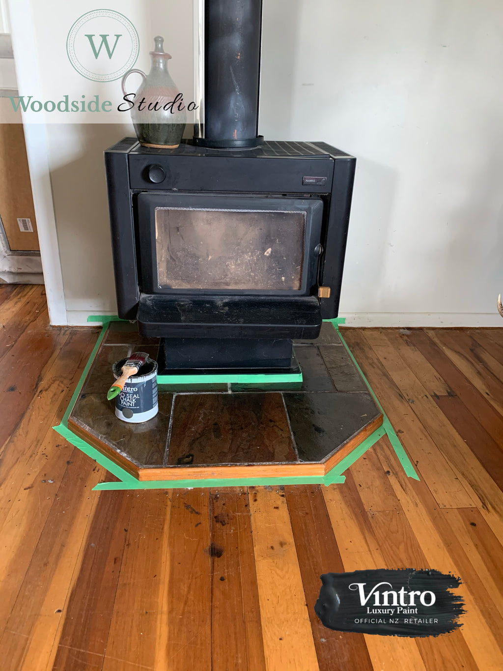 Commissioned Fireplace Surround