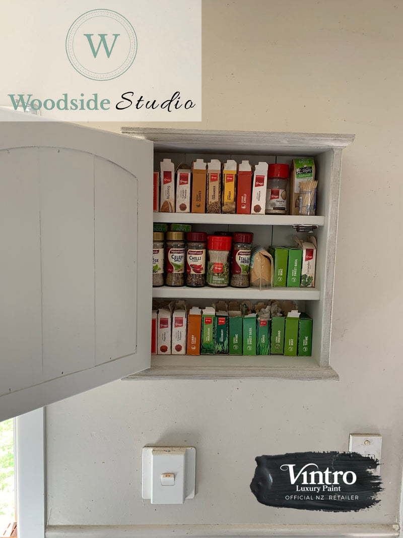 Commissioned Spice Rack