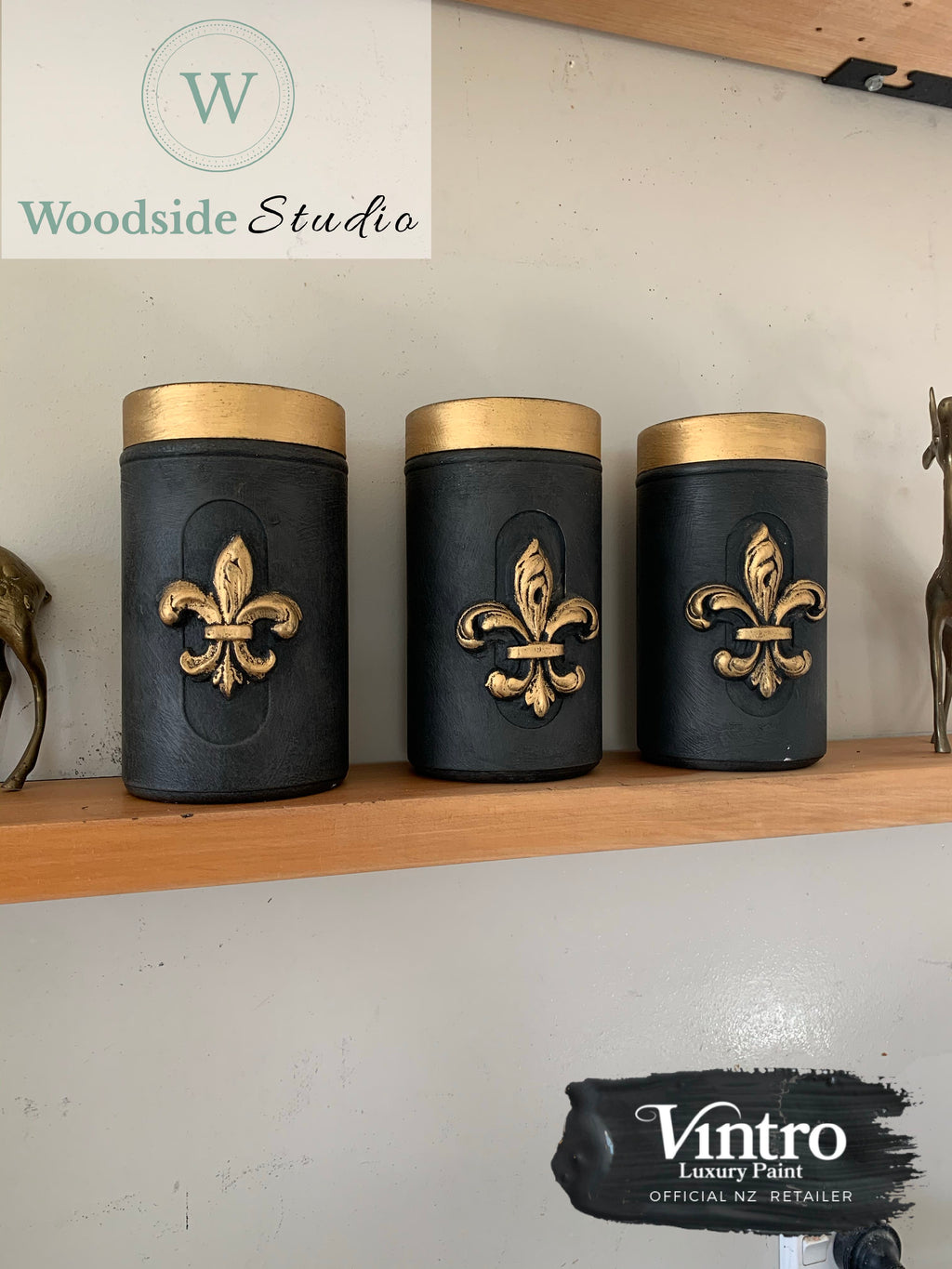 Commissioned Coffee Canisters