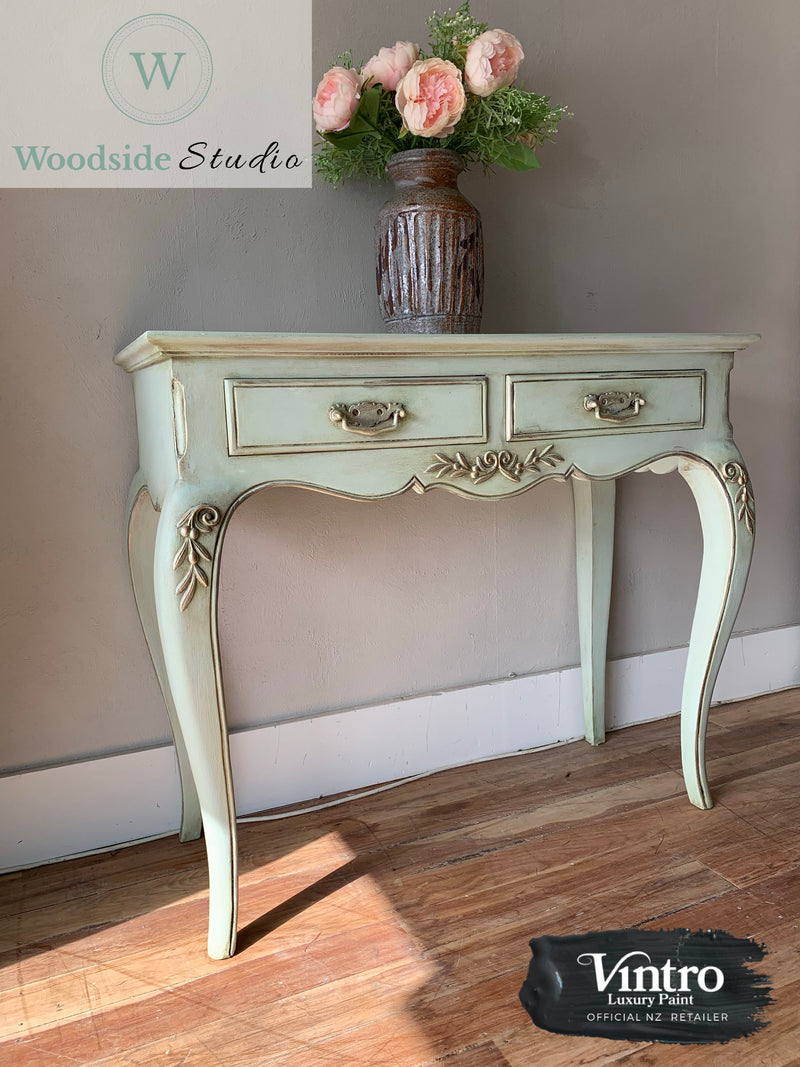 Aged French Hall Table