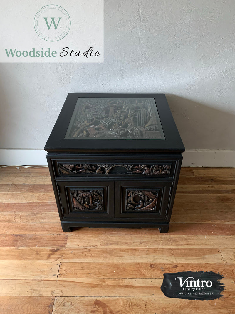 Asian Inspired Side Table