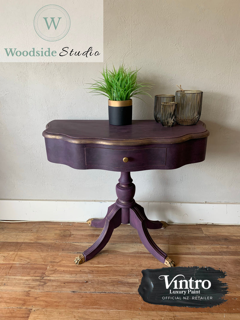 Rich and Bold Hall Table