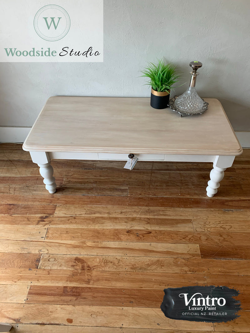 White Washed Rimu Coffee Table