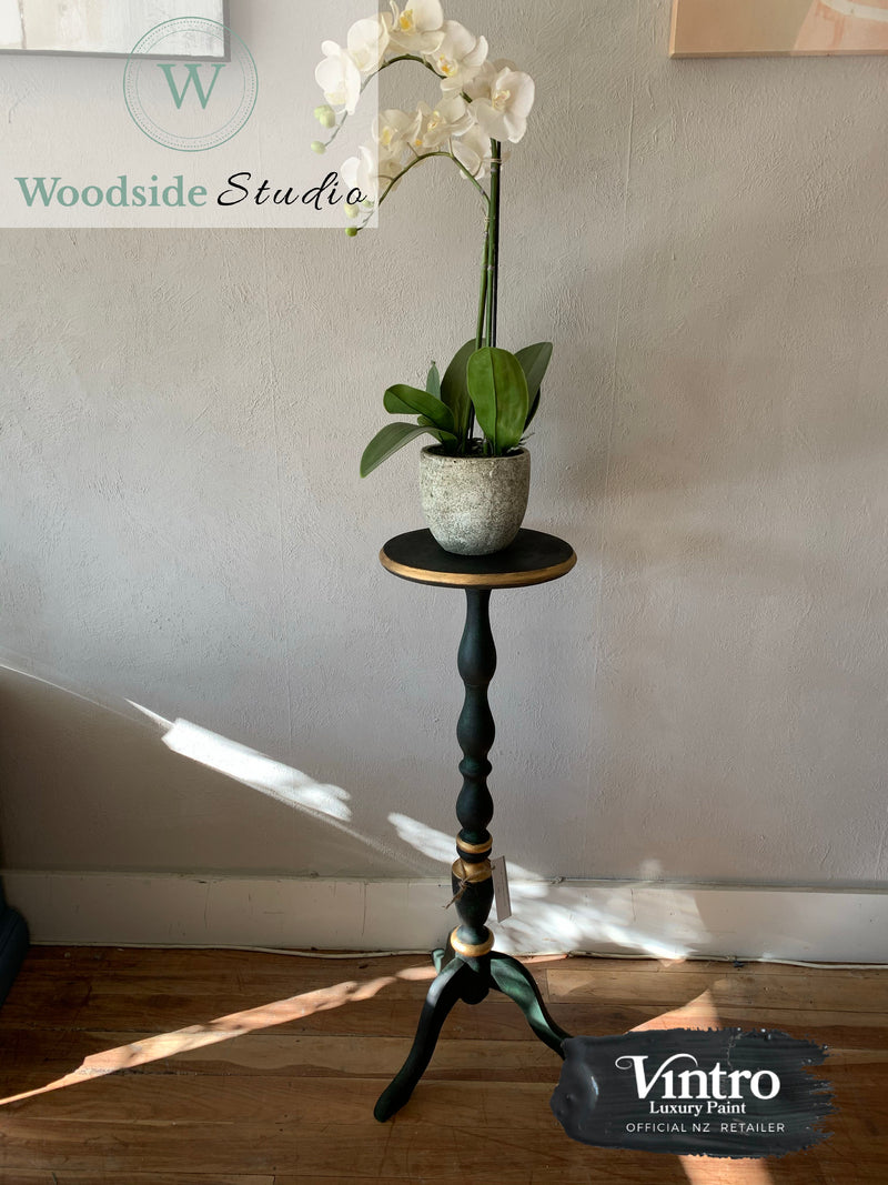 Dark Moody Plant Stand