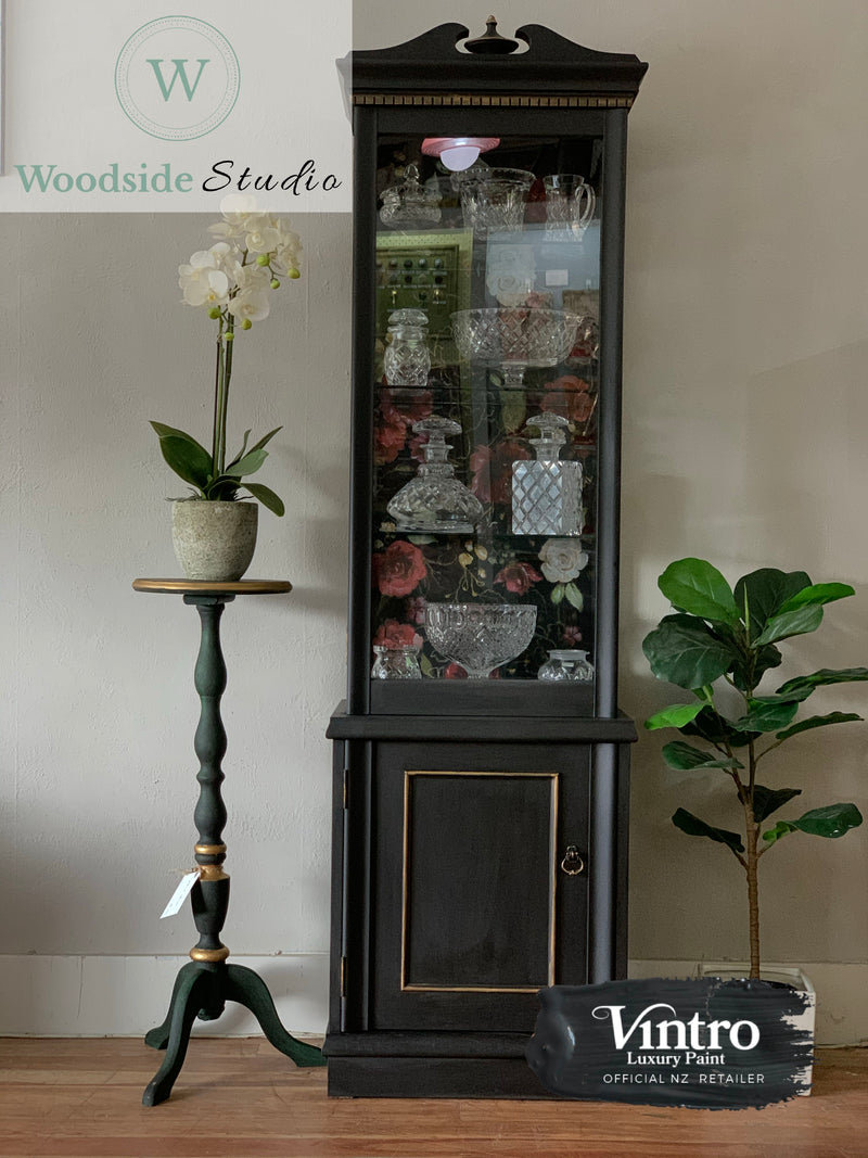 Dark Moody China Cabinet
