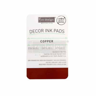ReDesign Decor Stamp Ink Pad - Copper