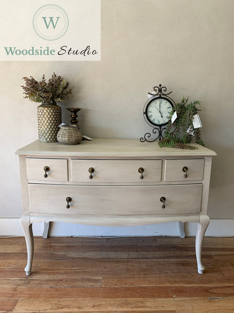 Softly Aged French Rustic Dresser