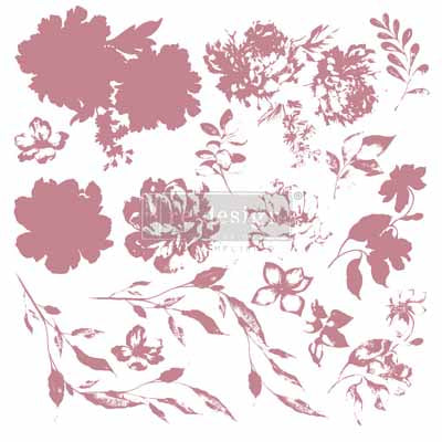 ReDesign Decor Stamp - Sweet Blossoms