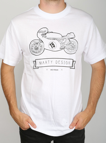 T-shirt - Old time bike