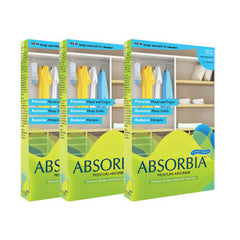 ABSORBIA CLOSET POUCH FAMILY PACK (3 Boxes)