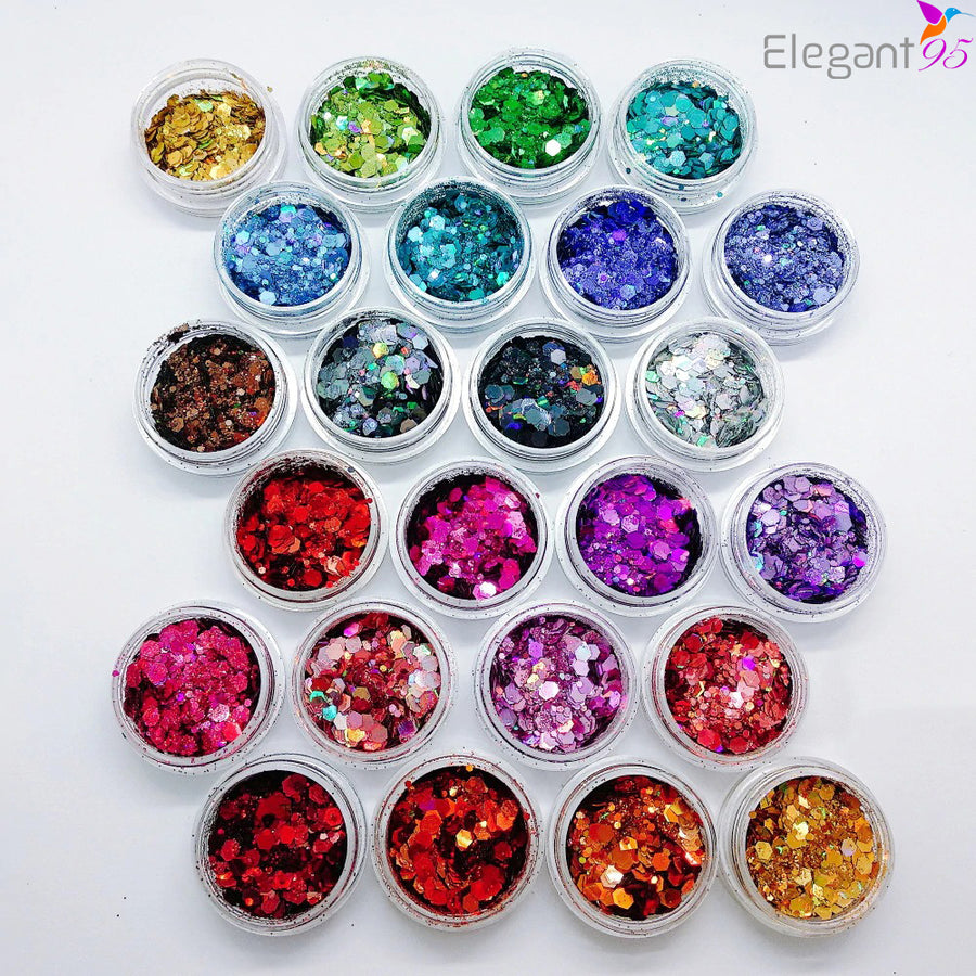 Eye & Body Glitter 24 Collection - Elegant 95