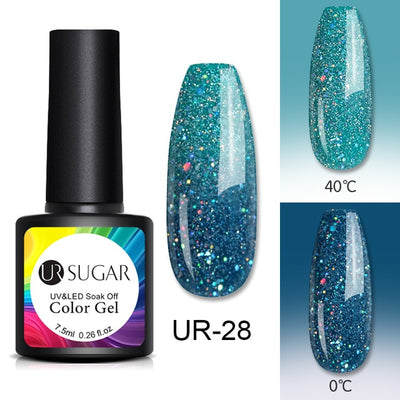 Thermal Nail Polish - Elegant 95