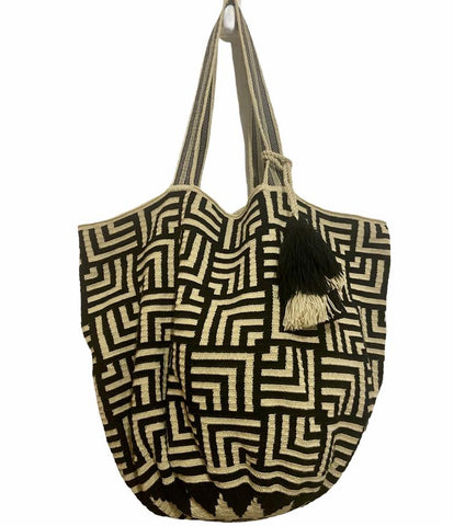Wayuu estampado Tote bag