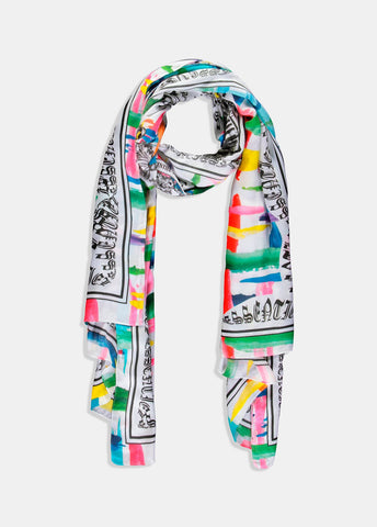 MULTICOLORED 20 YEARS ESSENTIEL SCARF