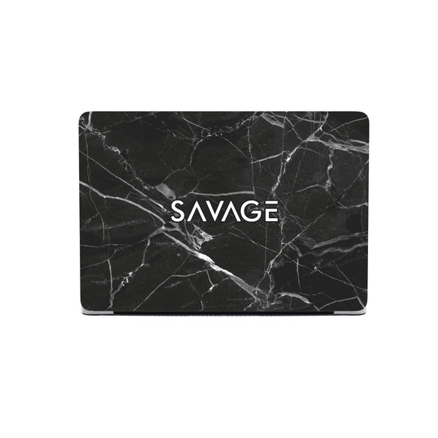 Classic SAVAGE Black Marble Macbook Case